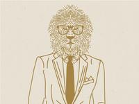 Respetable lion