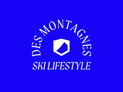 Aprés Ski — From the Mountains lifestyle comfort mountain life mountains ski life ski secondary logo logo brand minimalism layout typography branding design