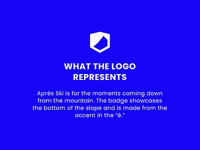 About The Logo badge design badge mountains skiing ski logo brand layout branding design