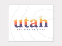 Utah Travel Logo Inspiration