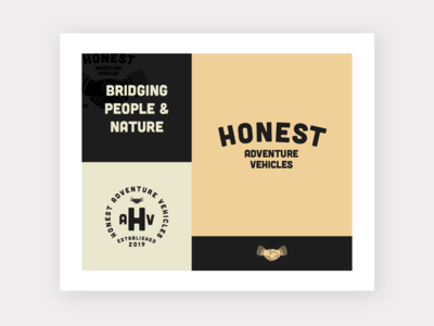 Honest Logo Inspiration Board