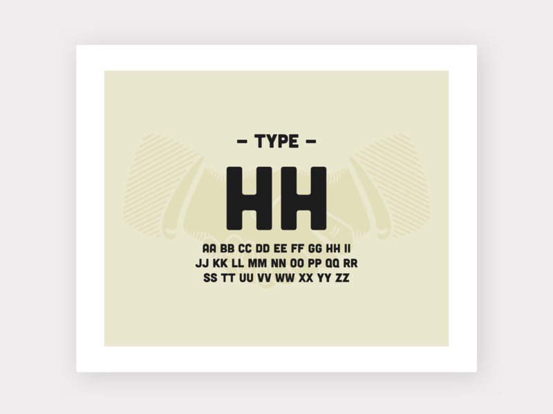 Honest ~ Typography adventure heritage layout icon vintage vanlife logo ui illustration brand minimalism ux design web design typography branding design