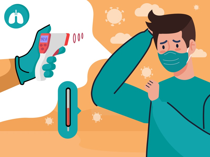 Stay Home, Stay Safe fitness healthcare social media illustration covid19 coronavirus social media banner