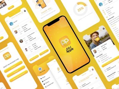 Unique Job Portal for GCC region App UIUX