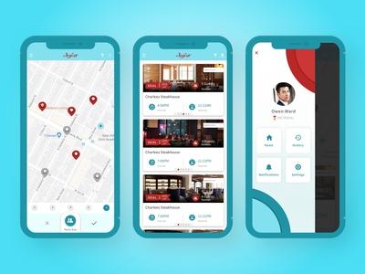 Reservation & Restaurant Review App