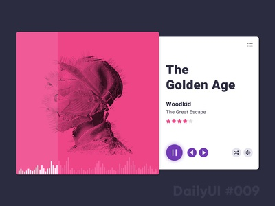 Daily UI challenge #009 — Music Player