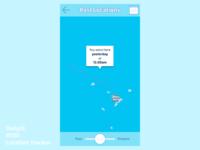 DailyUI 020 Location Tracker