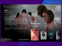 DailyUI 025 TV App