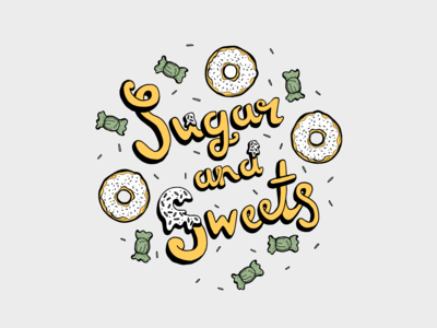 Logo design for a candy gifting co.