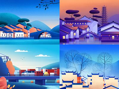 建筑风景02 草原 插图