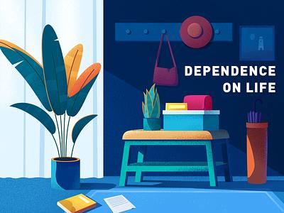 Dependence on Life design 插图
