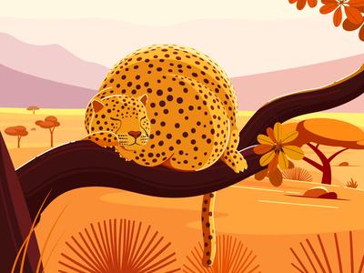 Fat World - Leopard