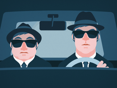 Blues Brothers Designs Themes Templates And Downloadable Graphic Elements On Dribbble