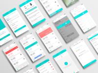 Mbox (Home Medication App) UI Design
