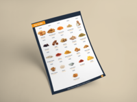 Booklets design for online grocery store