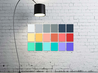 Colors on Wall