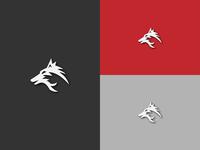 Wolf logo conceptual design
