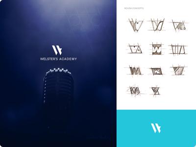 logo design - Welster's Academy