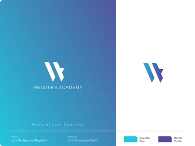 logo layout   welster s academy
