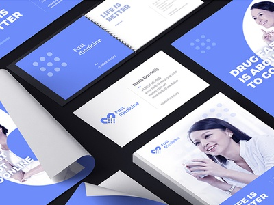 Brand design of medicine fast app