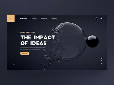 Design of Art Products Website