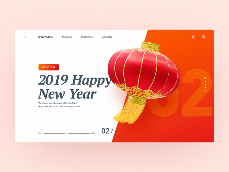 2019 Happy New Year new year 2019 new year happy new year color illustration ui design brand web