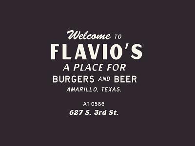 Welcome to Favio's food branding design font typography burger texas identity western brand identity badge logo graphic design adobe restaurant design branding beer