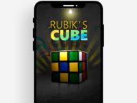 Rubik's Cube Splash Screen