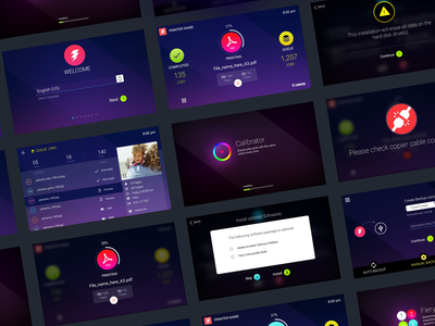 Quick Touch UI process