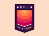Aquila First Flight Patch