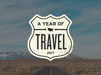 A Year of Travel logo