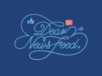 Dear News Feed