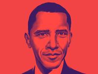 Obama Painting