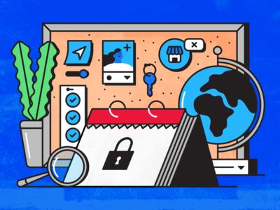 Editorial Illo for Privacy Day 2020