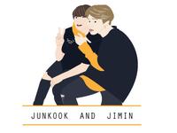 Jimin & Junkook ( BTS members)