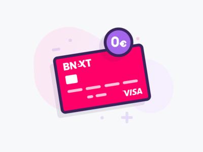 Bnext card bnext 0€ spain bank card credit
