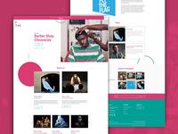 Fuel Theatre Website Design