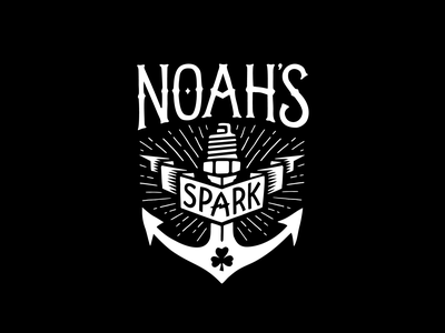 Noah's Spark memorial fishing tournament fishing sparkplug logo anchor