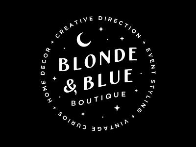 Blonde & Blue Wordmark