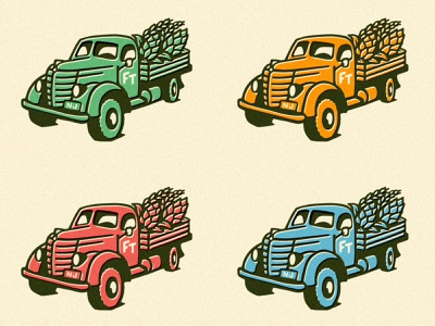 FT Truck Colors nj brewery logo hops beer farm truck
