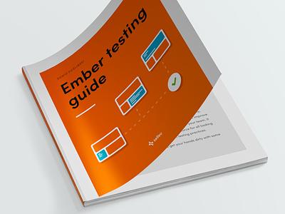 Ember Testing Guide ebook design magazine digital minimalist download free print design ebook
