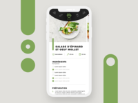 Design d'application culinaire