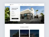 Redesign real estate website