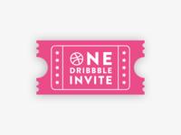 One dribbble invite !