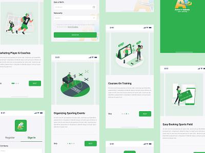 Amazon Talents   Illustrations Onboarding Process vector web illustration ux process app design ux ui minimal flat