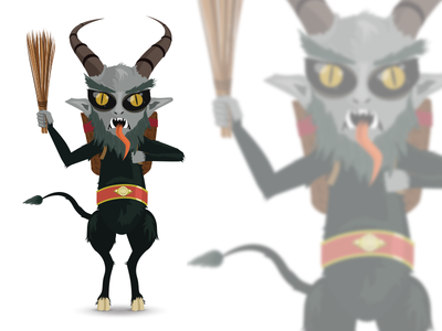 Krampus Character