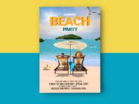 Beach Party Mockup