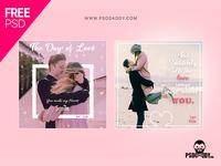 Valentine Social Media Post