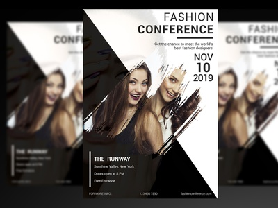 Fashion Conference Flyer Template models flyer girls flyer business fashion flyer fashion flyer fashion flyers