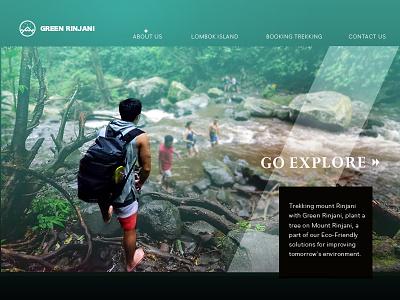 Daily Ui #003 - Landing Page (above the fold) dailyuichallenge dailyui webdesign uidesign